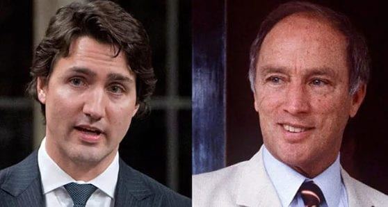 Like father, like son? How Justin and Pierre compare