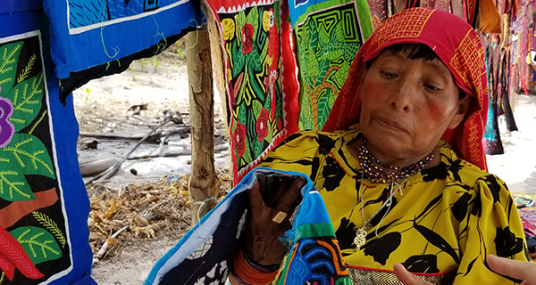 Hardy Gunas' way of life threatened by rising waters