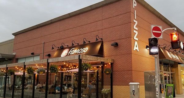 'Our vision is to have Famoso Italina Pizza in every major city that we can,' including the Asia-Pacific and European markets