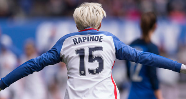 Rapinoe's quest for 'justice for all' is quintessentially American
