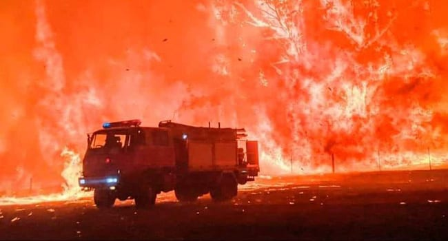 Don't blame Australian fires on climate change