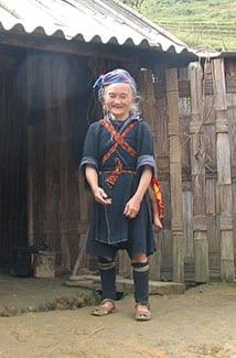 Elder Sapan woman