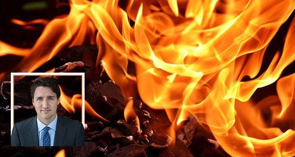 Trudeau fiddles while Canada burns