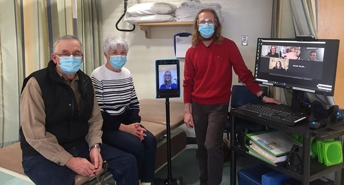 High-tech rehabilitative platform connects rural Albertans to specialists